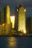 Water front Skyscraper Stock Image