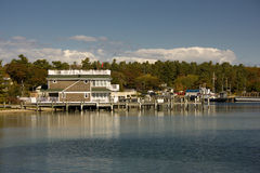 Water front at St. James Beaver Island MI Royalty Free Stock Photo
