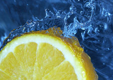 Water & Fruit Stock Photography