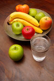 Water and fruit Royalty Free Stock Image