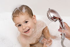 Water fun stock image
