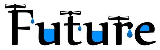 Water future stock illustration