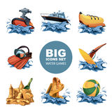 Water game Royalty Free Stock Images