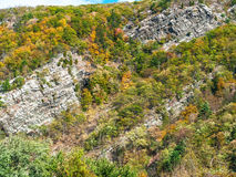 Water Gap Cliffs Royalty Free Stock Images