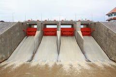 Water gate dam Royalty Free Stock Photos