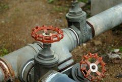 Water gate valve Royalty Free Stock Photo