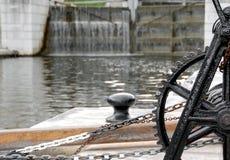 Water gates Stock Photo