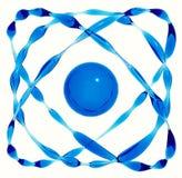 Water gemaakt atoom Stock Afbeeldingen