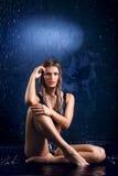 Water girl Stock Image