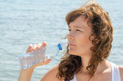 Water girl Royalty Free Stock Images