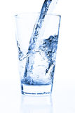Water in glass Stock Photography