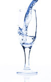 Water in glass Royalty Free Stock Image