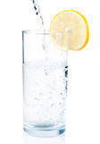 Water in the glass Stock Photography