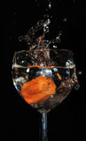 Water glass Royalty Free Stock Photography