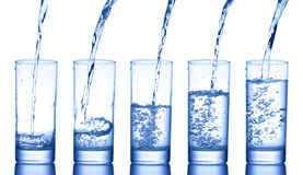 Water glass Stock Photos