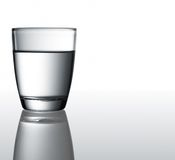 Water in glass Royalty Free Stock Photos