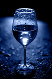 WATER in glass. Stock Image