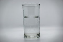 Water in glass. For drinking Royalty Free Stock Image