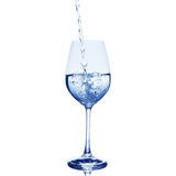 Water in glass Stock Image