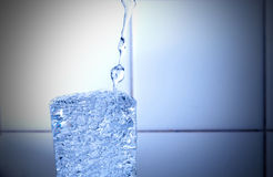 Water in a glass Stock Images