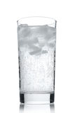 Water in a glass with ice Stock Photography
