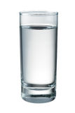 Water glass isolated. With clipping path Stock Image