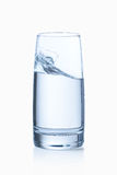 Water glass isolated Stock Image