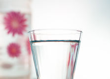 Water. A glass of mineral water Royalty Free Stock Image