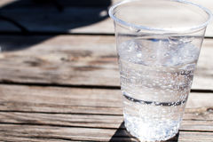 A water glass Royalty Free Stock Image
