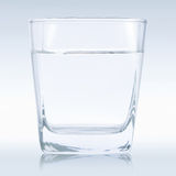 Water glass for whiskey Royalty Free Stock Image