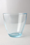 Water glass on a white background Royalty Free Stock Images