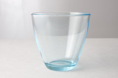 Water glass on a white background Stock Images