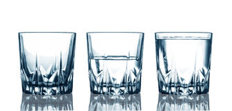 Water glasses Royalty Free Stock Photos