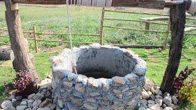Water-goed bij Gezichtspunt in wintertijd bij Verbod Kha stock video