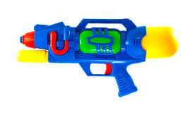 Water gun. Colorful water gun that use for water festival in thailand royalty free stock image