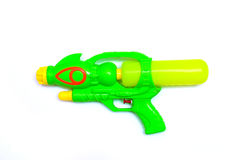 Water gun isolated on white background Royalty Free Stock Photo