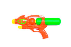 Water gun isolated on white background Royalty Free Stock Image