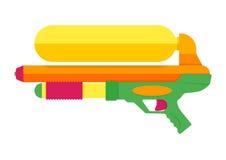 Water gun vector illustration. Stock Photos
