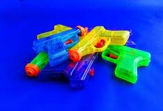 Water guns Royalty Free Stock Image