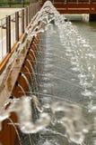 Water gushing  , EXPO 2015 Milan Royalty Free Stock Photos