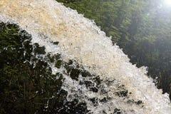 Water gushing splash. Stock Photography