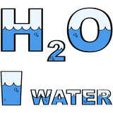 Water H2O Stock Images