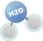 Water - H2O Stock Image