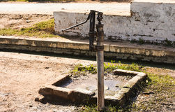 Water hand pump - Nalka Royalty Free Stock Photos