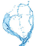 Water heart Stock Images