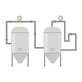 Water heater tank icon Stock Photos
