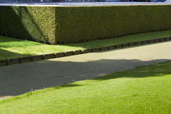 Water and hedge security Stock Photography