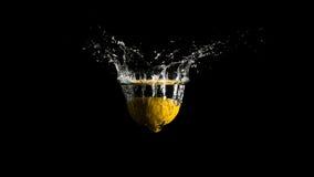 Water het bespatten van de oppervlakte van de vloeistof Stock Afbeelding