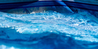 Water het bewegen zich Royalty-vrije Stock Foto's