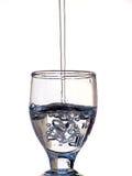 Water in het Glas Stock Afbeelding